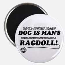 "Ragdoll Cat designs 2.25"" Magnet (100 pack)"