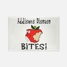 Addisons Disease Bites Rectangle Magnet