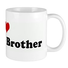 I Love My Little Brother Mug