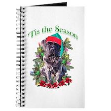 Brindle Puppy 'Tis Journal