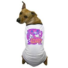 Pink Bunny Blink for Beans Dog T-Shirt