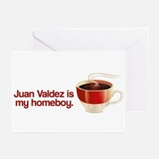 Juan Valdez is my Homeboy Greeting Cards (Package