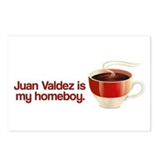 Juan Valdez is my Homeboy Postcards (Package of 8)