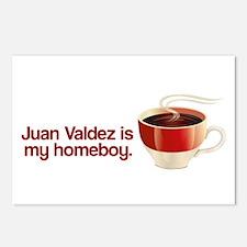 Juan Valdez is my Homeboy Postcards (Package of 8)
