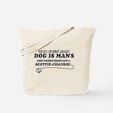 Scottie Chausie Cat designs Tote Bag
