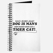 Tiger Cat designs Journal