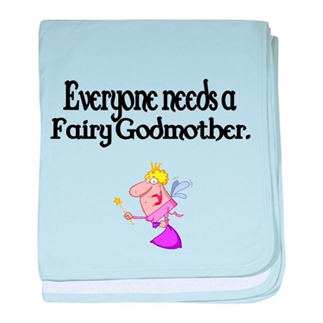 Everyone needs a Fairy Godmother baby blanket