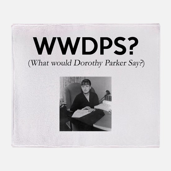 WWDPS? Throw Blanket
