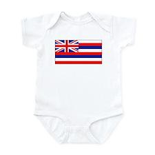 Hawaii Hawaiian Flag Onesie Onesies