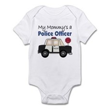 My Mommy's A Police Officer Infant Bodysuit