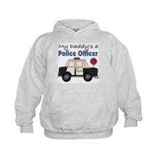 My Daddy's A Police Officer Hoodie