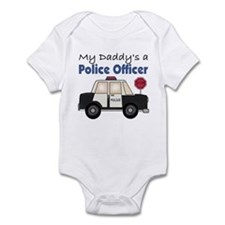 My Daddy's A Police Officer Infant Bodysuit