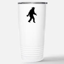 Graduation Sasquatch Travel Mug
