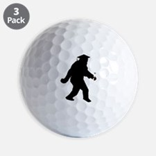 Graduation Sasquatch Golf Ball