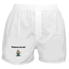 Patience my Ass! Mad Golfer Boxer Shorts