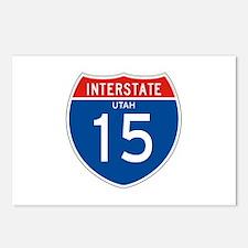 Interstate 15 - UT Postcards (Package of 8)