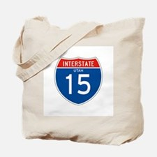 Interstate 15 - UT Tote Bag
