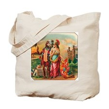 Vintage Cigar Label Tote Bag