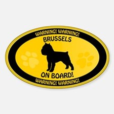 Brussels On Board 2 Decal