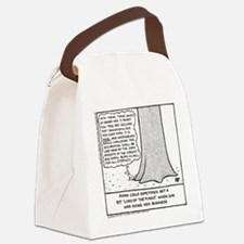Pippa In The Woods - Canvas Lunch Bag