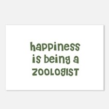 Happiness is being a ZOOLOGIS Postcards (Package o