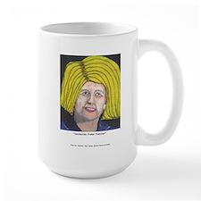 Margaret Thatcher In Wigs Mug