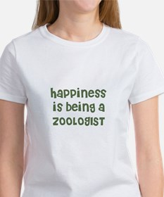 Happiness is being a ZOOLOGIS Women's T-Shirt
