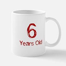 6 Years Old Mug