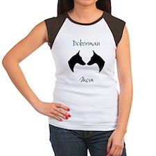 Doberman Mom Women's Cap Sleeve T-Shirt