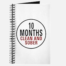 10 Months Clean & Sober Journal