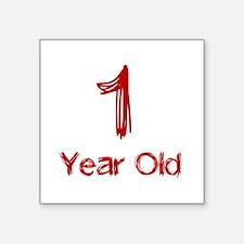 1 Year Old Sticker