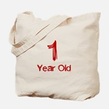 1 Year Old Tote Bag