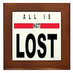 LOST Framed Tile