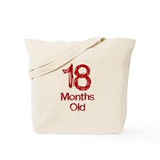 18 Months Old Baby Milestones Tote Bag