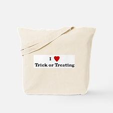 I Love Trick or Treating Tote Bag