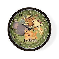 Jungle Safari Clock Jackson Wall Clock