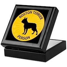 Boston Person Keepsake Box
