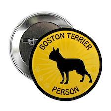 """Boston Person 2.25"""" Button"""
