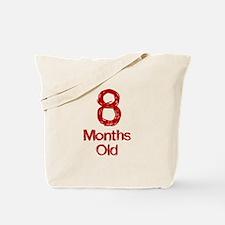 8 Months Old Baby Milestones Tote Bag