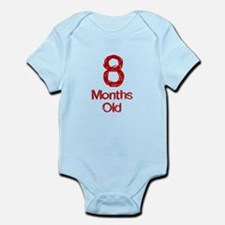 8 Months Old Baby Milestones Body Suit