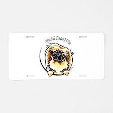 Pekingese IAAM Aluminum License Plate