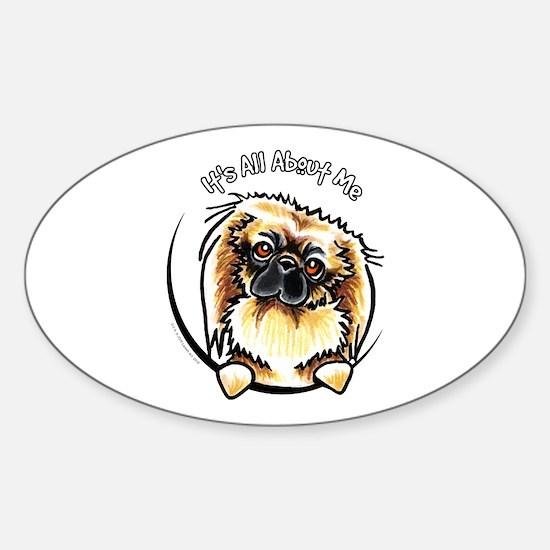 Pekingese IAAM Sticker (Oval)