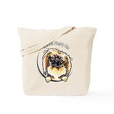 Pekingese IAAM Tote Bag