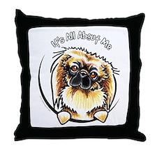 Pekingese IAAM Throw Pillow