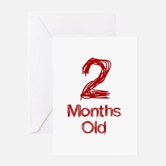 2 Months Old Baby Milestones Greeting Card