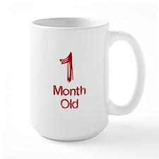 1 Month Old Baby Milestones Mug