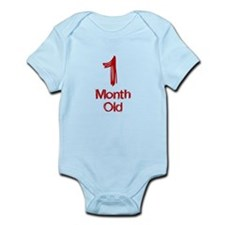 1 Month Old Baby Milestones Body Suit