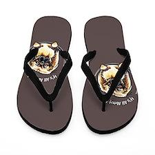 Pekingese IAAM Flip Flops