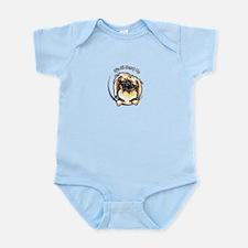 Pekingese IAAM Logo Infant Bodysuit