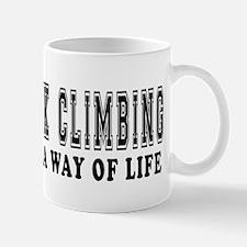 Rock Climbing It's A Way Of Life Mug